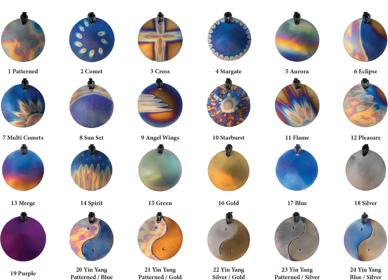 Teslas Pendants - round - Enhances your bio-energetic field,supporting your bodies energetic needs.