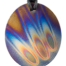 Teslas Adult Flame Oval Pendant - The pendant has the effect of strengthening the wearers energy field, thus helping to alleviate the bio-energy effects of some man-made EMF/EMR.