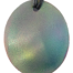 Teslas Adult Green Oval Pendant - The pendant has the effect of strengthening the wearers energy field, thus helping to alleviate the bio-energy effects of some man-made EMF/EMR.