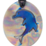 Teslas Teen Single Dolphin Patterned/Blue Pendant - The pendant has the effect of strengthening the wearers energy field, thus helping to alleviate the bio-energy effects of some man-made EMF/EMR.