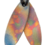 Teslas Teen Patterned Surfboard Pendant - The pendant has the effect of strengthening the wearers energy field, thus helping to alleviate the bio-energy effects of some man-made EMF/EMR.