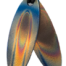 Teslas Teen Flame Surfboard Pendant - The pendant has the effect of strengthening the wearers energy field, thus helping to alleviate the bio-energy effects of some man-made EMF/EMR.