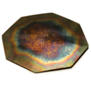 House Plate Large Octagonal - The proprietary frequency matrix in this unit is specifically configured to help alleviate some of the energetic effects caused by geopathic stress. This plate may also be used to energise reflex points and the auric field.