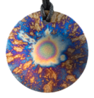 Teslas Adult Starburst Round Pendant - The pendant has the effect of strengthening the wearers energy field, thus helping to alleviate the bio-energy effects of some man-made EMF/EMR. Oval Pendant - The pendant has the effect of strengthening the wearers energy field, thus helping to alleviate the bio-energy effects of some man-made EMF/EMR