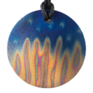 Teslas Adult Spirit Round Pendant - The pendant has the effect of strengthening the wearers energy field, thus helping to alleviate the bio-energy effects of some man-made EMF/EMR. Oval Pendant - The pendant has the effect of strengthening the wearers energy field, thus helping to alleviate the bio-energy effects of some man-made EMF/EM