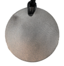Teslas Adult Silver Round Pendant - The pendant has the effect of strengthening the wearers energy field, thus helping to alleviate the bio-energy effects of some man-made EMF/EMR. Oval Pendant - The pendant has the effect of strengthening the wearers energy field, thus helping to alleviate the bio-energy effects of some man-made EMF/EMR