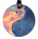Teslas Adult Yin/Yang Patterned/Blue Round Pendant - The pendant has the effect of strengthening the wearers energy field, thus helping to alleviate the bio-energy effects of some man-made EMF/EMR. Oval Pendant - The pendant has the effect of strengthening the wearers energy field, thus helping to alleviate the bio-energy effects of some man-made EMF/EMR