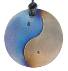Teslas Adult Yin/Yang Silver/Blue Round Pendant - The pendant has the effect of strengthening the wearers energy field, thus helping to alleviate the bio-energy effects of some man-made EMF/EMR. Oval Pendant - The pendant has the effect of strengthening the wearers energy field, thus helping to alleviate the bio-energy effects of some man-made EMF/EMR