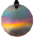Teslas Adult Aurora 14 Sided Pendant - The pendant has the effect of strengthening the wearers energy field, thus helping to alleviate the bio-energy effects of some man-made EMF/EMR. Oval Pendant - The pendant has the effect of strengthening the wearers energy field, thus helping to alleviate the bio-energy effects of some man-made EMF/EMR