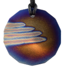 Teslas Adult Angel Wings 14 Sided Pendant - The pendant has the effect of strengthening the wearers energy field, thus helping to alleviate the bio-energy effects of some man-made EMF/EMR. Oval Pendant - The pendant has the effect of strengthening the wearers energy field, thus helping to alleviate the bio-energy effects of some man-made EMF/EMR