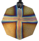 Teslas Adult Cross 8 Sided Pendant - The pendant has the effect of strengthening the wearers energy field, thus helping to alleviate the bio-energy effects of some man-made EMF/EMR. Oval Pendant - The pendant has the effect of strengthening the wearers energy field, thus helping to alleviate the bio-energy effects of some man-made EMF/EMR