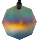 Teslas Adult Aurora 8 Sided Pendant - The pendant has the effect of strengthening the wearers energy field, thus helping to alleviate the bio-energy effects of some man-made EMF/EMR. Oval Pendant - The pendant has the effect of strengthening the wearers energy field, thus helping to alleviate the bio-energy effects of some man-made EMF/EMR