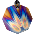 Teslas Adult Flame 8 Sided Pendant - The pendant has the effect of strengthening the wearers energy field, thus helping to alleviate the bio-energy effects of some man-made EMF/EMR. Oval Pendant - The pendant has the effect of strengthening the wearers energy field, thus helping to alleviate the bio-energy effects of some man-made EMF/EM