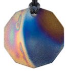 Teslas Adult Ecilpse 10 Sided Pendant - The pendant has the effect of strengthening the wearers energy field, thus helping to alleviate the bio-energy effects of some man-made EMF/EMR. Oval Pendant - The pendant has the effect of strengthening the wearers energy field, thus helping to alleviate the bio-energy effects of some man-made EMF/EM