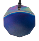 Teslas Adult Sunset 10 Sided Pendant - The pendant has the effect of strengthening the wearers energy field, thus helping to alleviate the bio-energy effects of some man-made EMF/EMR. Oval Pendant - The pendant has the effect of strengthening the wearers energy field, thus helping to alleviate the bio-energy effects of some man-made EMF/EM