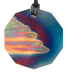 Teslas Adult Angel Wings 10 Sided Pendant - The pendant has the effect of strengthening the wearers energy field, thus helping to alleviate the bio-energy effects of some man-made EMF/EMR. Oval Pendant - The pendant has the effect of strengthening the wearers energy field, thus helping to alleviate the bio-energy effects of some man-made EMF/EM