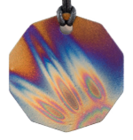 Teslas Adult Flame 10 Sided Pendant - The pendant has the effect of strengthening the wearers energy field, thus helping to alleviate the bio-energy effects of some man-made EMF/EMR. Oval Pendant - The pendant has the effect of strengthening the wearers energy field, thus helping to alleviate the bio-energy effects of some man-made EMF/EM