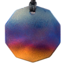 Teslas Adult Merge 10 Sided Pendant - The pendant has the effect of strengthening the wearers energy field, thus helping to alleviate the bio-energy effects of some man-made EMF/EMR. Oval Pendant - The pendant has the effect of strengthening the wearers energy field, thus helping to alleviate the bio-energy effects of some man-made EMF/EMR.