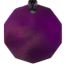 Teslas Adult Purple 10 Sided Pendant - The pendant has the effect of strengthening the wearers energy field, thus helping to alleviate the bio-energy effects of some man-made EMF/EMR. Oval Pendant - The pendant has the effect of strengthening the wearers energy field, thus helping to alleviate the bio-energy effects of some man-made EMF/EMR.