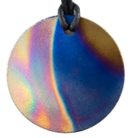 Teslas Adult Eclipse Round Pendant - The pendant has the effect of strengthening the wearers energy field, thus helping to alleviate the bio-energy effects of some man-made EMF/EMR. Oval Pendant - The pendant has the effect of strengthening the wearers energy field, thus helping to alleviate the bio-energy effects of some man-made EMF/EMR