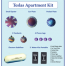 House-Apartment-Kit is the same as the House Kit, but the water kit has been changed to the portable water kit.