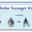 The Teslas Teenager Kit is specifically designed to reduce the effects of mobile phone use. (Which is out of control in today's world.) Teenage brains are much more susceptible to the microwave frequencies than adults.